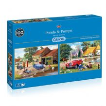 Ponds and Pumps - 2 x 500 piece  Jigsaw Puzzles